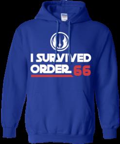 image 423 247x296px Star Wars T Shirt: I Survived Order 66 Shirt