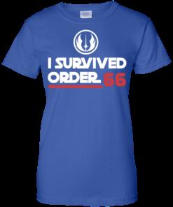 image 426 247x296px Star Wars T Shirt: I Survived Order 66 Shirt