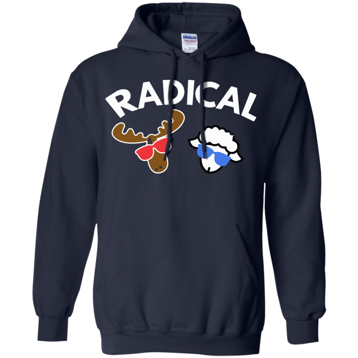 image 433px Radical Moose Lamb T Shirt, Hoodies, Tank