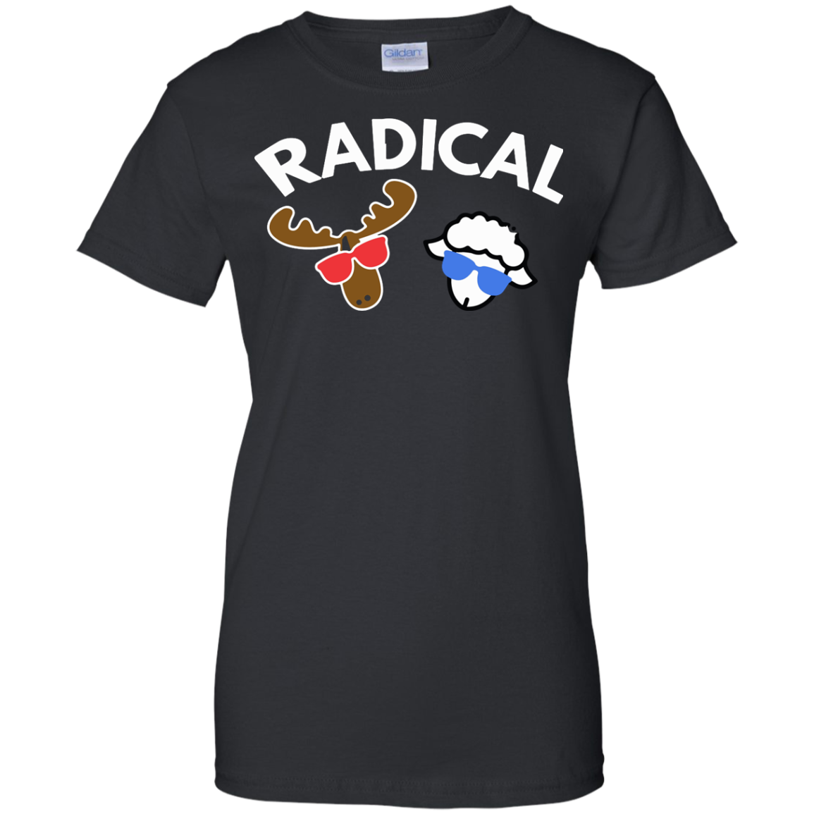 image 435px Radical Moose Lamb T Shirt, Hoodies, Tank