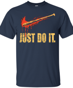 image 485 247x296px Lucille Just Do It shirt, The Walking Dead T Shirt, Tank Top