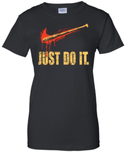 image 491 247x296px Lucille Just Do It shirt, The Walking Dead T Shirt, Tank Top