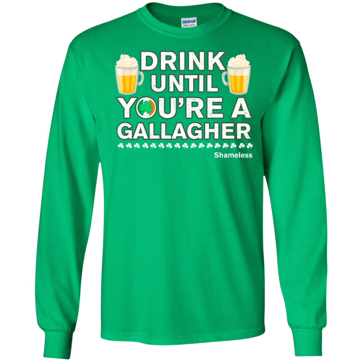 image 5px St Patrick's Day: Drink Until You Are A Gallagher T Shirt