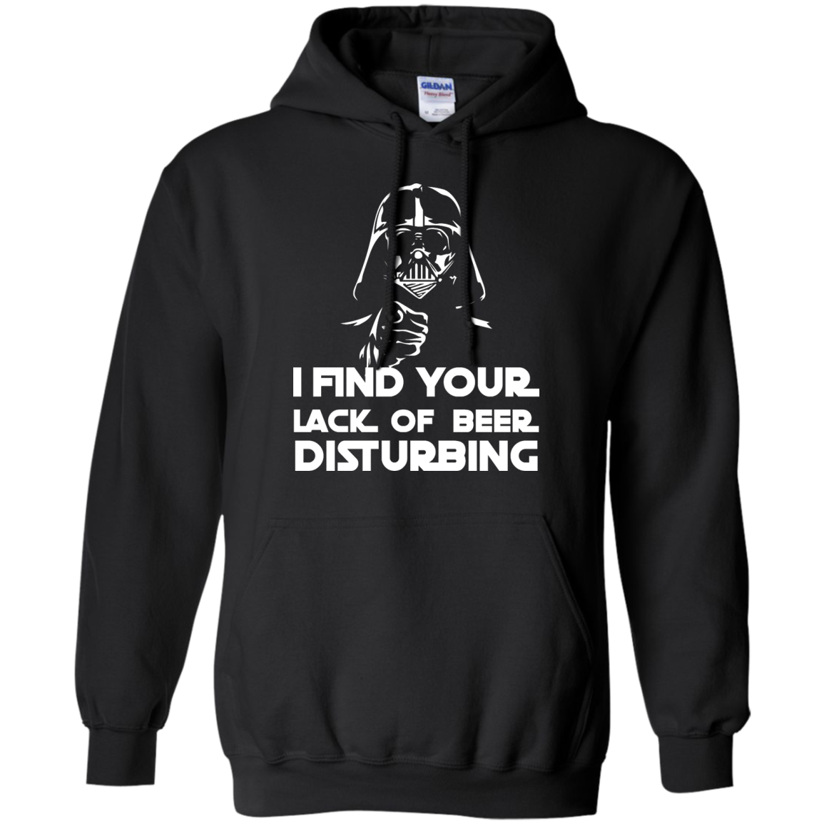 image 51px Star War: I Find Your Lack Of Beer Disturbing T Shirt