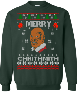 image 562 247x296px Merry Chrithmith Mike Tyson Ugly Christmas Sweater, T shirt