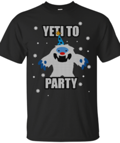 image 565 247x296px Yeti To Party Christmas Sweater