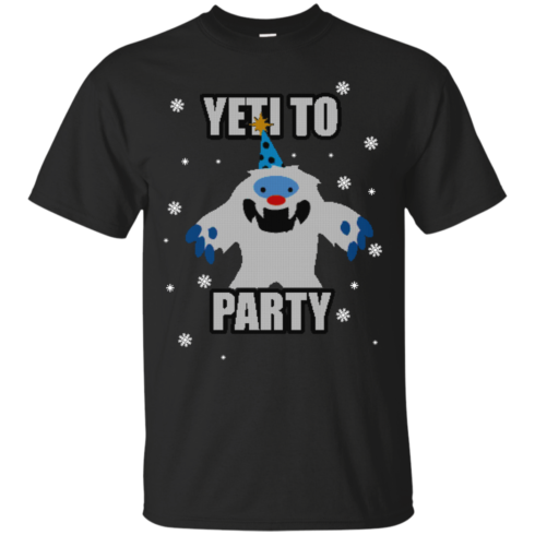 image 565 490x490px Yeti To Party Christmas Sweater