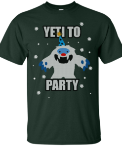 image 567 247x296px Yeti To Party Christmas Sweater