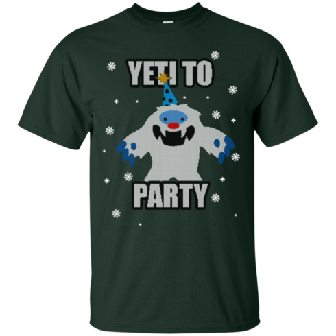 image 567 490x490px Yeti To Party Christmas Sweater