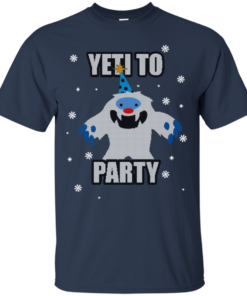 image 568 247x296px Yeti To Party Christmas Sweater