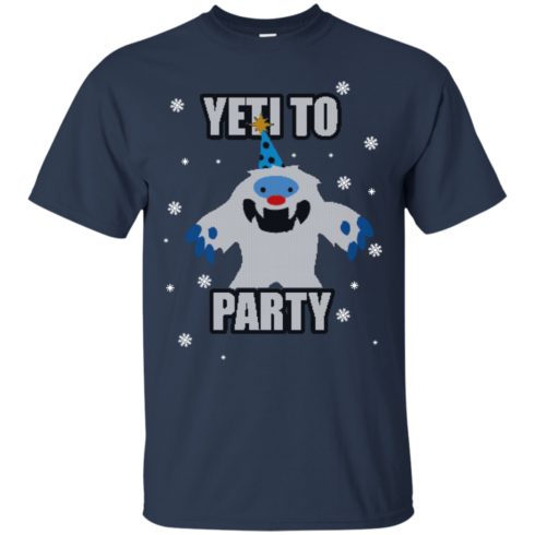 image 568 490x490px Yeti To Party Christmas Sweater