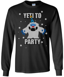 image 569 247x296px Yeti To Party Christmas Sweater