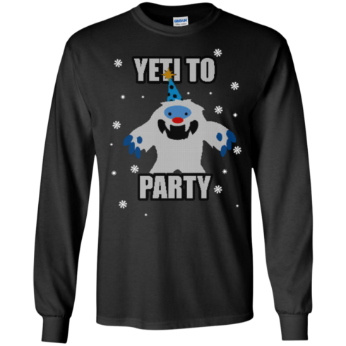 image 569 490x490px Yeti To Party Christmas Sweater