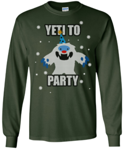 image 570 247x296px Yeti To Party Christmas Sweater