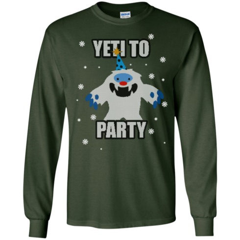 image 570 490x490px Yeti To Party Christmas Sweater