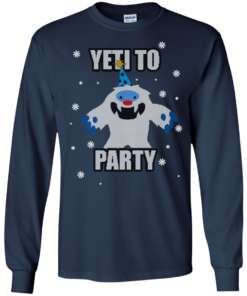 image 571 247x296px Yeti To Party Christmas Sweater