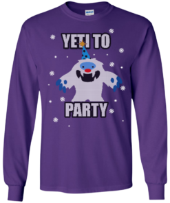 image 572 247x296px Yeti To Party Christmas Sweater