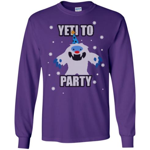 image 572 490x490px Yeti To Party Christmas Sweater