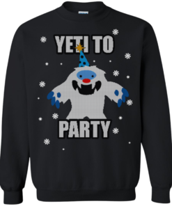 image 573 247x296px Yeti To Party Christmas Sweater