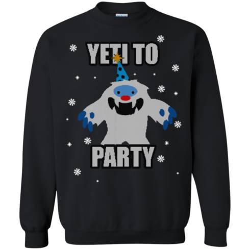 image 573 490x490px Yeti To Party Christmas Sweater