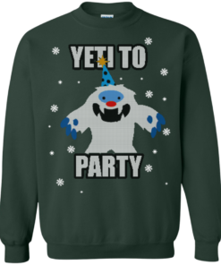 image 574 247x296px Yeti To Party Christmas Sweater