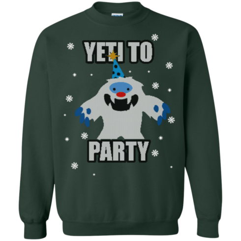image 574 490x490px Yeti To Party Christmas Sweater