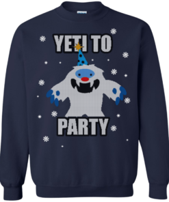 image 575 247x296px Yeti To Party Christmas Sweater