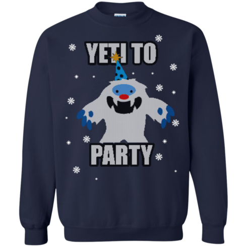 image 575 490x490px Yeti To Party Christmas Sweater