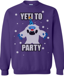 image 576 247x296px Yeti To Party Christmas Sweater