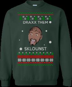 image 586 247x296px Draxx Them Sklounst Christmas Sweater, T Shirt, Hoodies