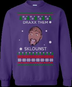 image 587 247x296px Draxx Them Sklounst Christmas Sweater, T Shirt, Hoodies