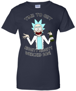 image 620 247x296px Time To Get Riggity Riggity Wrecked Son T Shirt, Tank Top