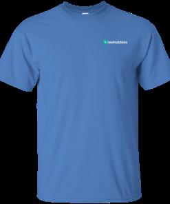 image 623 247x296px Teehobbies Logo T Shirt Men & Women Styles