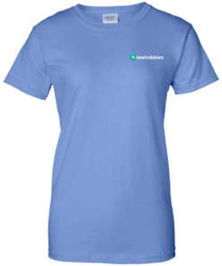 image 625 247x296px Teehobbies Logo T Shirt Men & Women Styles