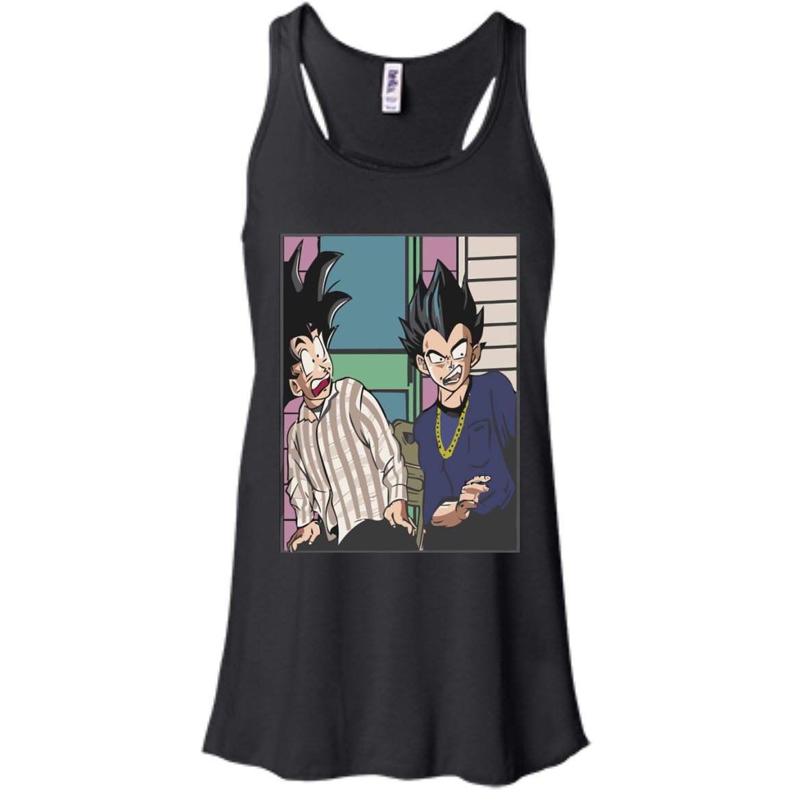 image 641px Goku and Vegeta Shirt, Friday The Movie T Shirt, Hoodies