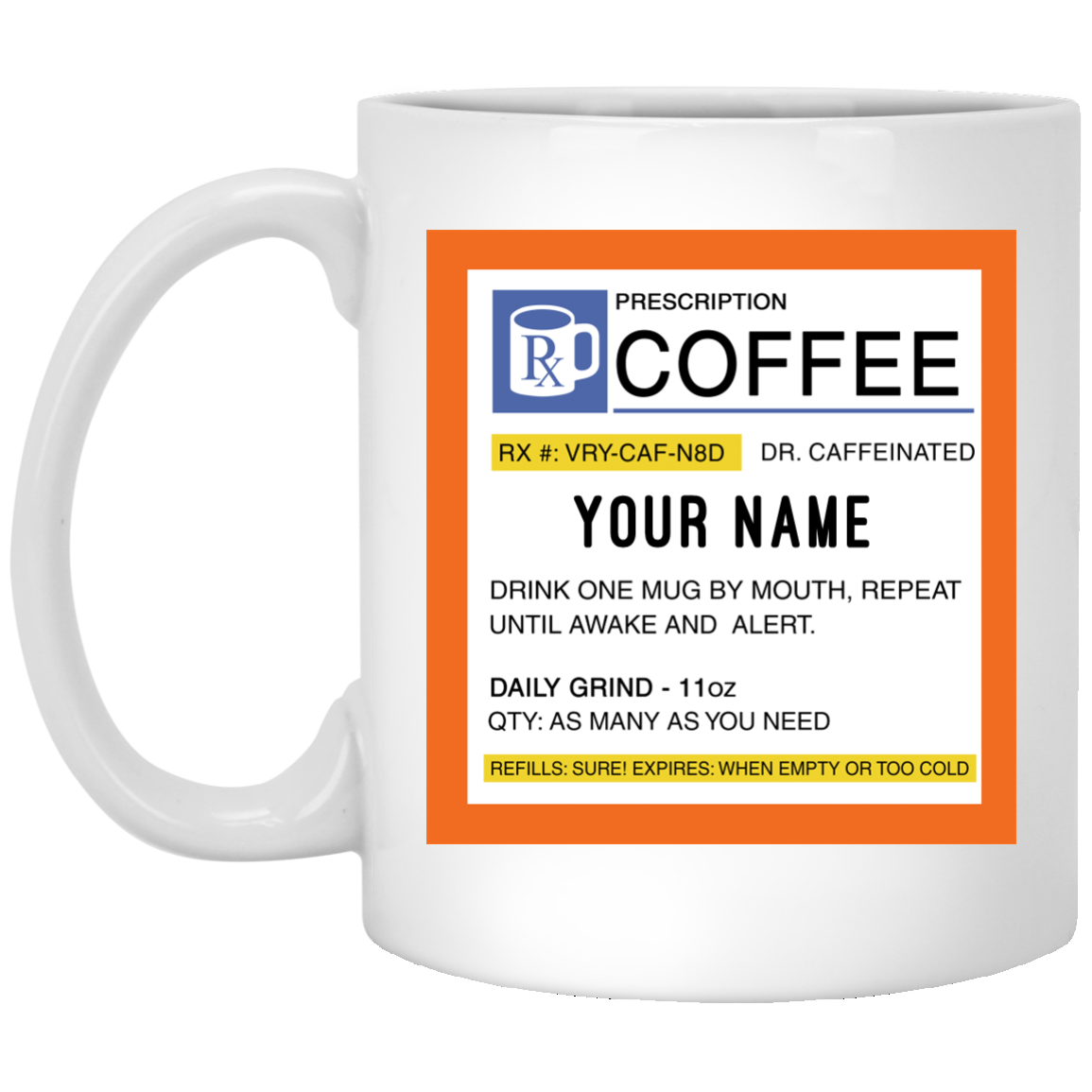 image 660px Personalized Prescription Coffee Mug Teehobbies