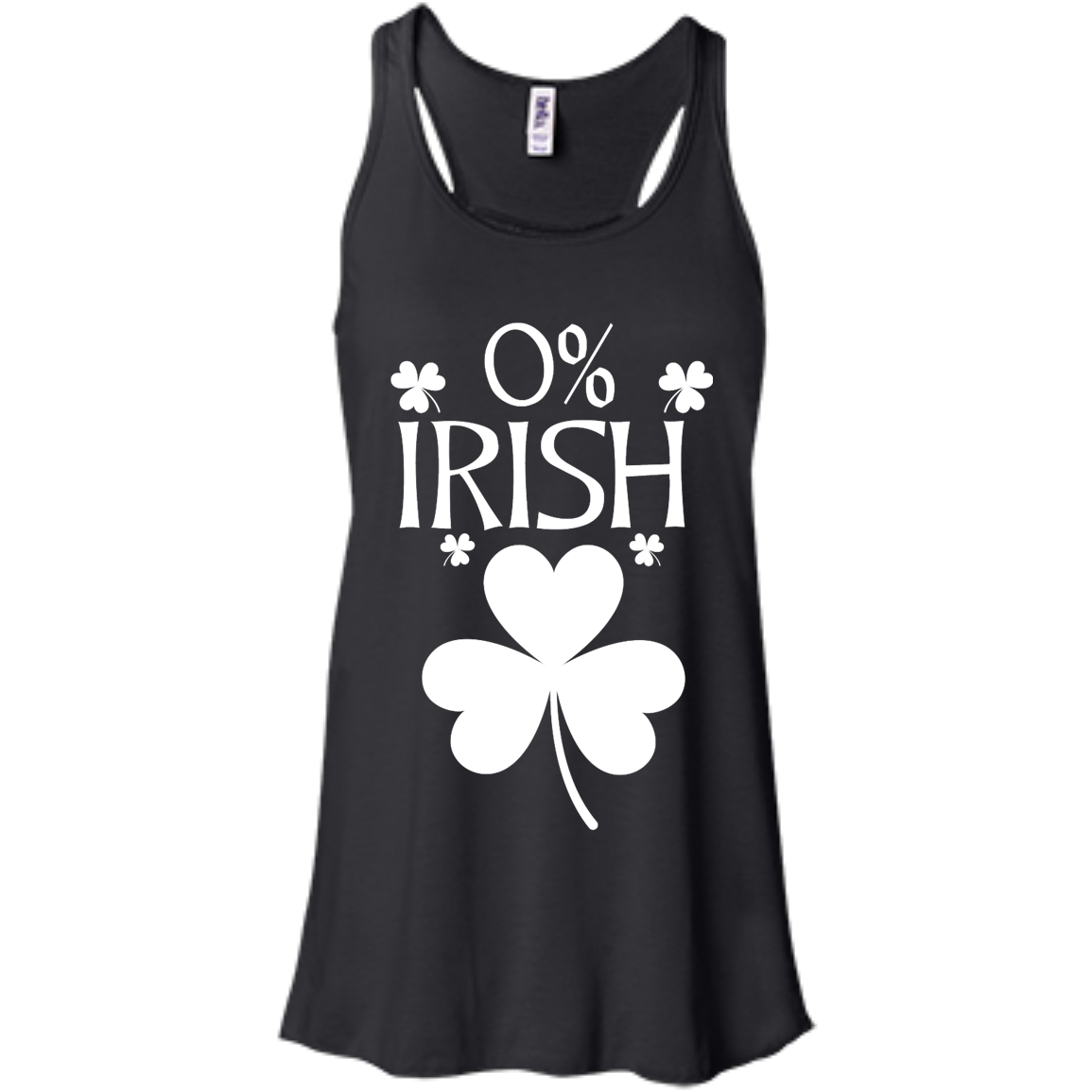 image 676px St Patrick's Day: 0% Irish funny irish t shirt, hoodies, tank
