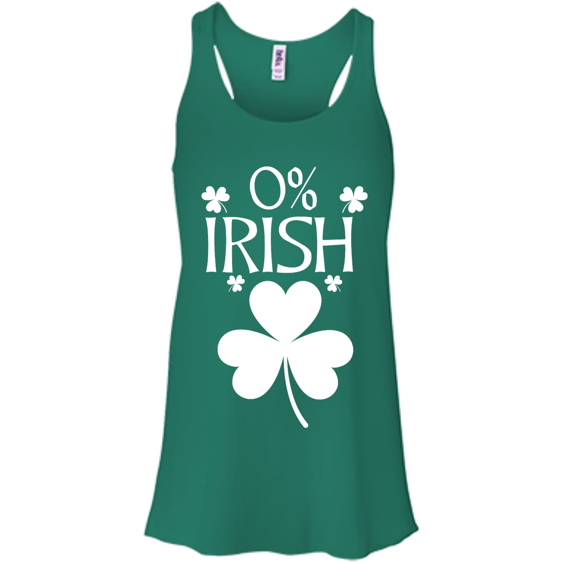 image 677px St Patrick's Day: 0% Irish funny irish t shirt, hoodies, tank