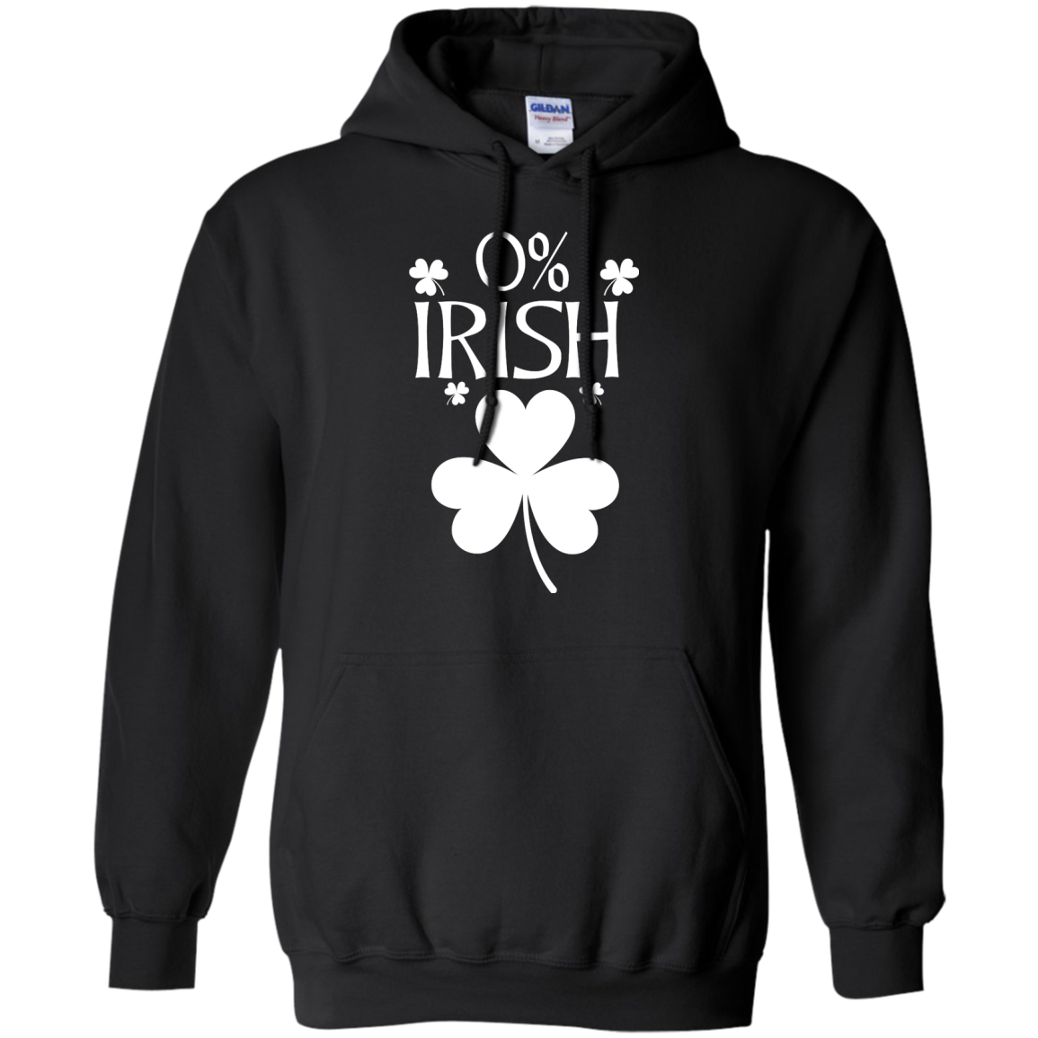 image 680px St Patrick's Day: 0% Irish funny irish t shirt, hoodies, tank