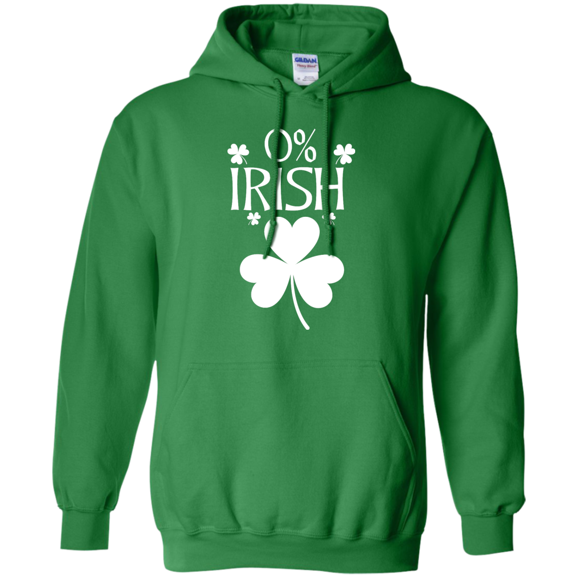 image 681px St Patrick's Day: 0% Irish funny irish t shirt, hoodies, tank
