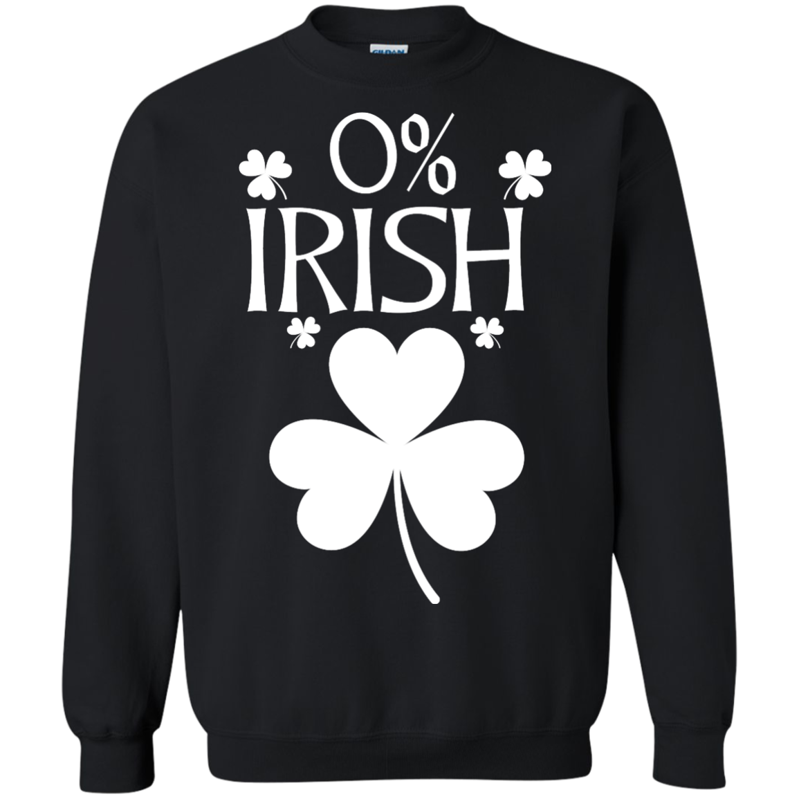 image 682px St Patrick's Day: 0% Irish funny irish t shirt, hoodies, tank