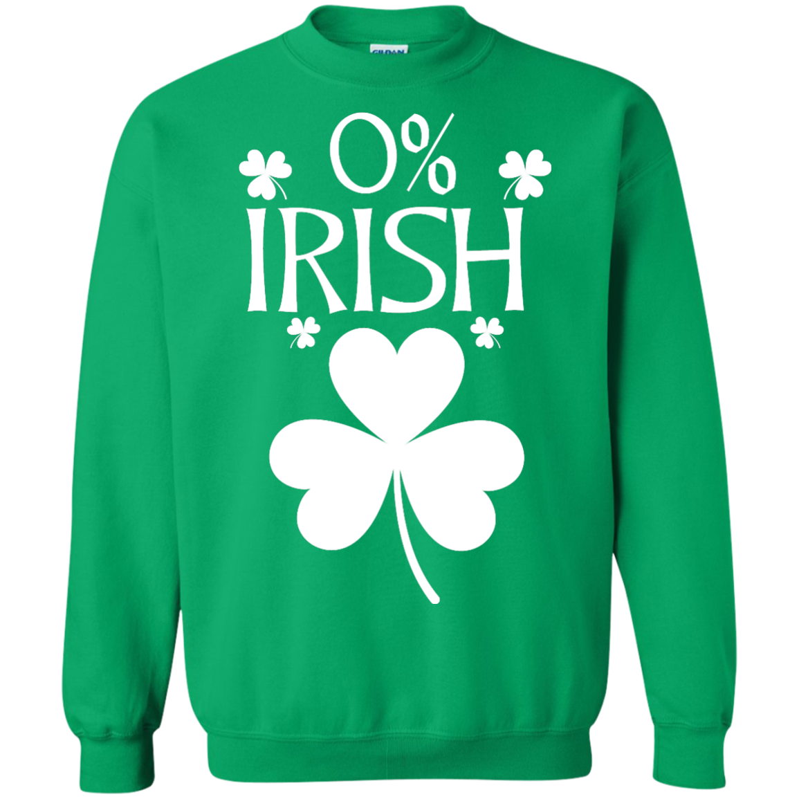image 683px St Patrick's Day: 0% Irish funny irish t shirt, hoodies, tank