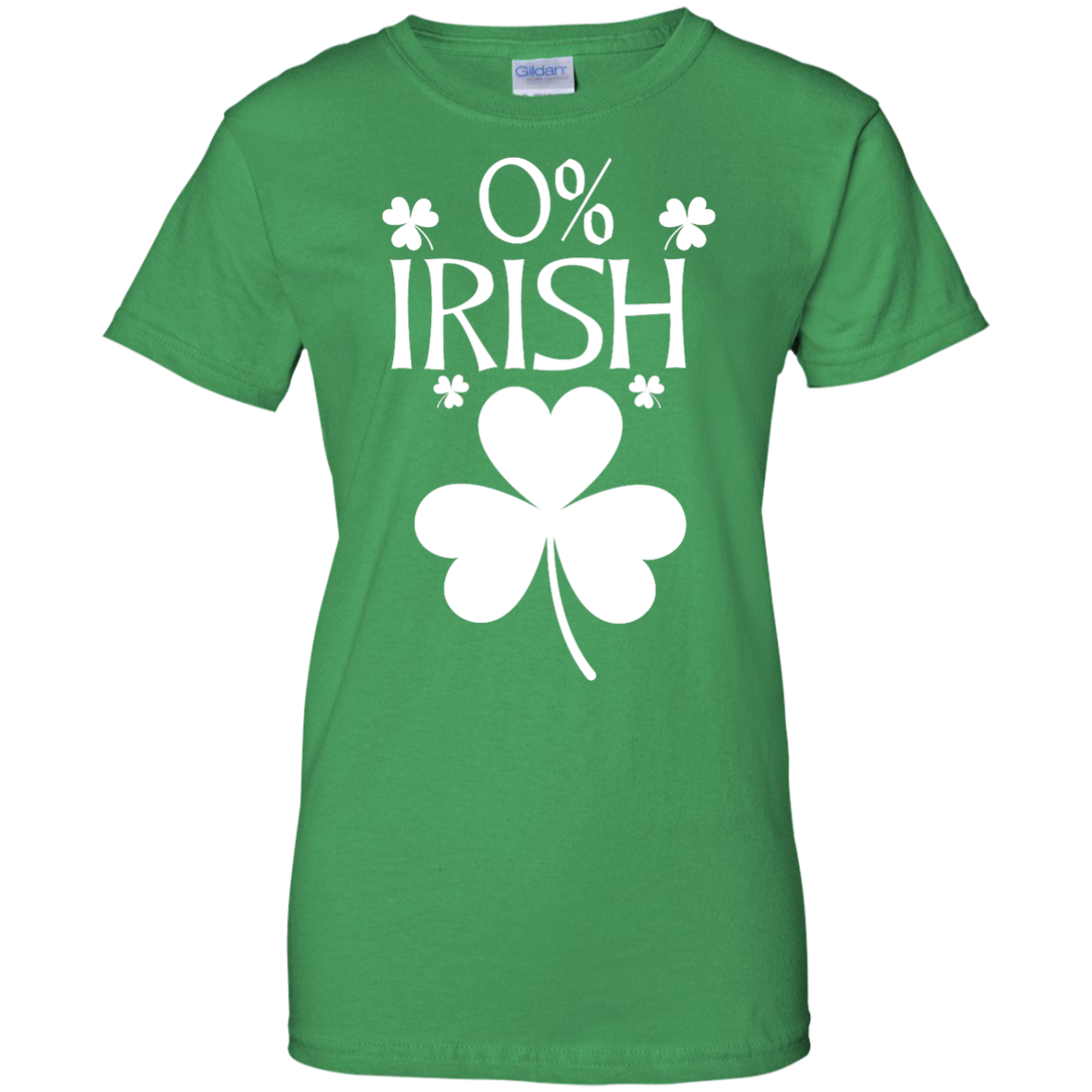 image 685px St Patrick's Day: 0% Irish funny irish t shirt, hoodies, tank