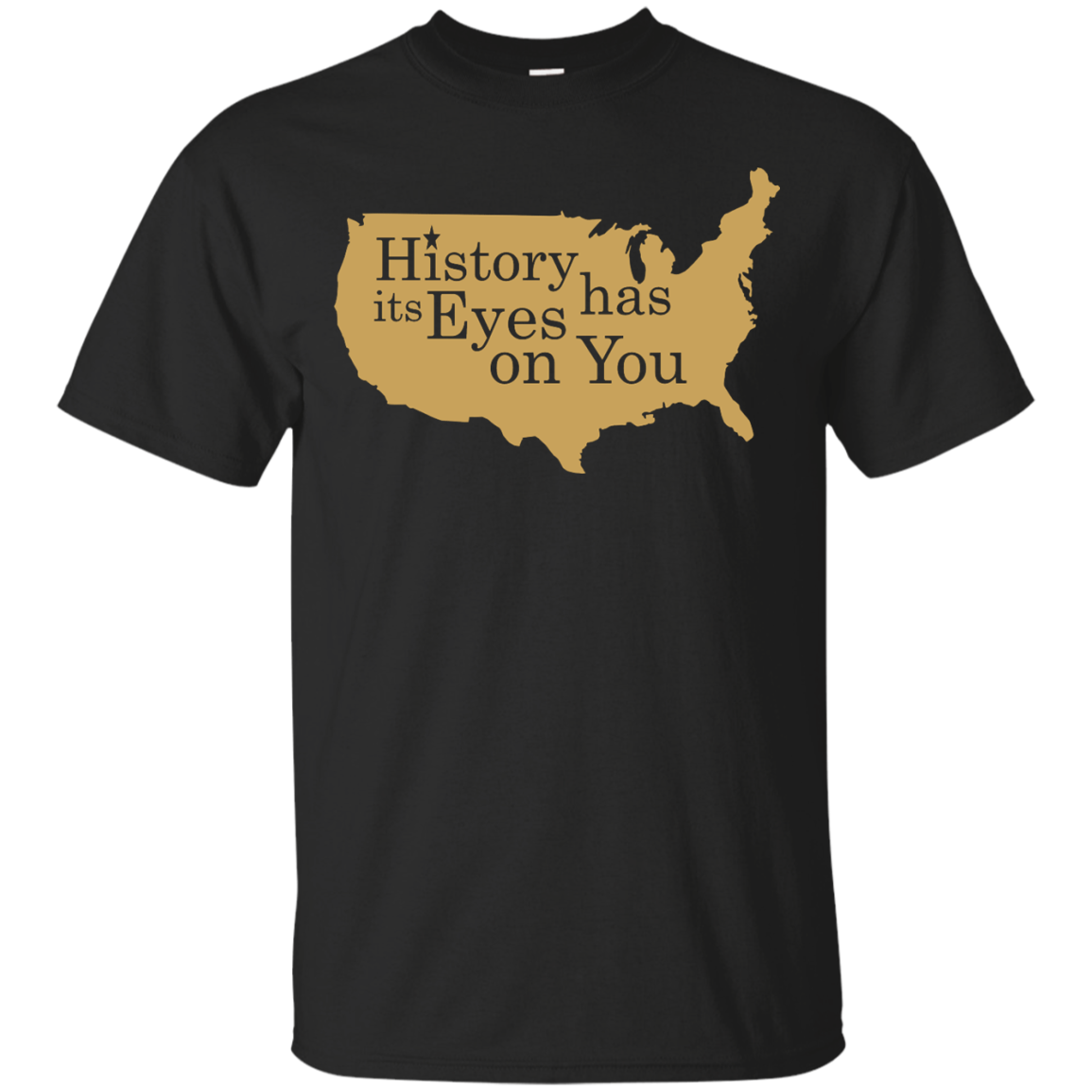 image 686px Hamilton Clothing history has its eyes on you T Shirt