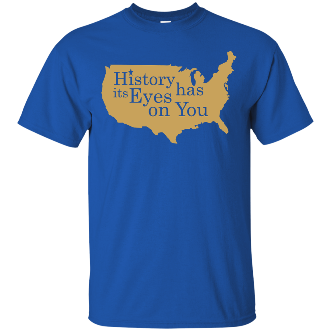 image 687px Hamilton Clothing history has its eyes on you T Shirt