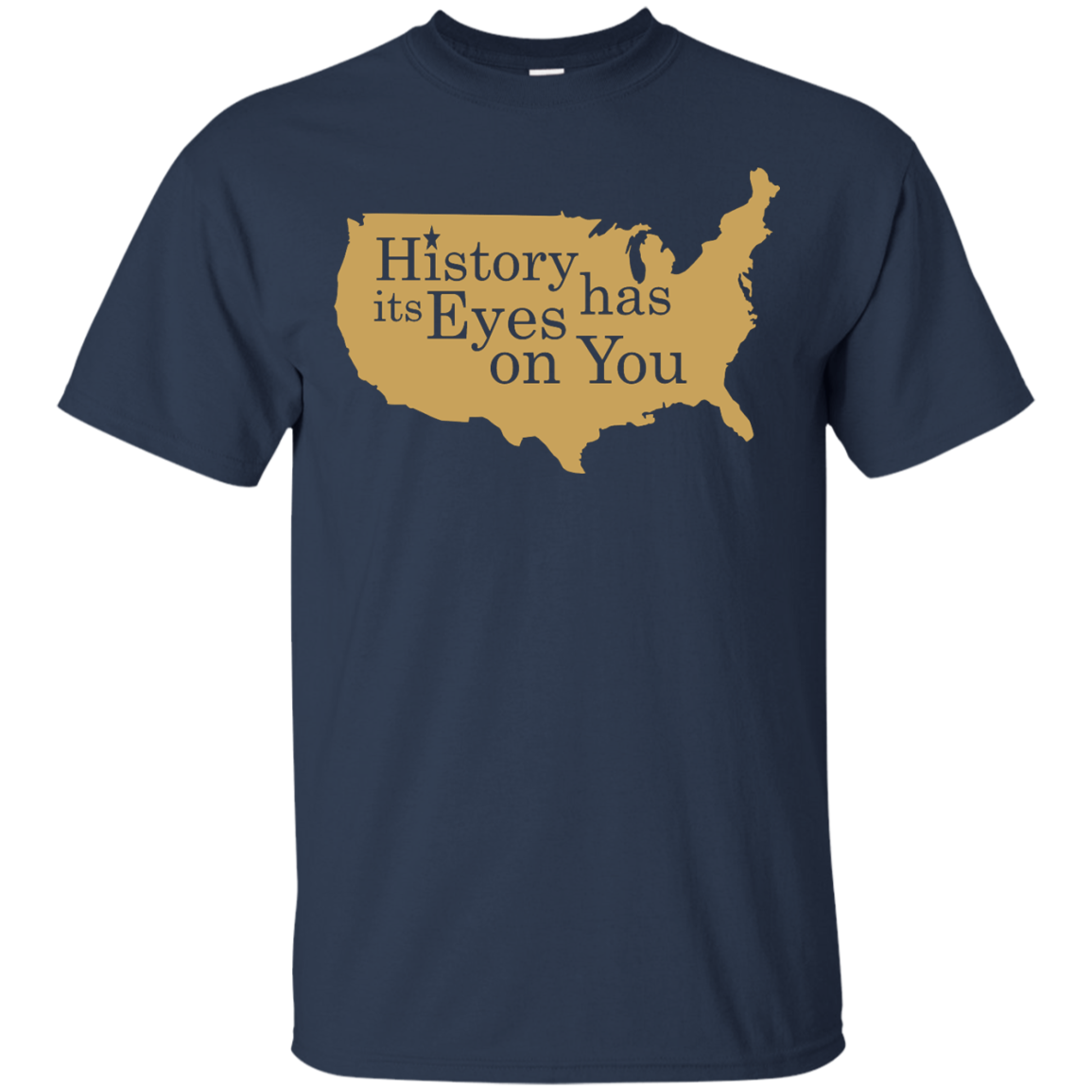 image 688px Hamilton Clothing history has its eyes on you T Shirt
