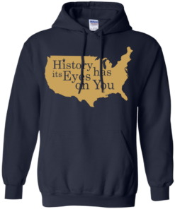 image 692 247x296px Hamilton Clothing history has its eyes on you T Shirt