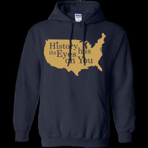 image 692 490x490px Hamilton Clothing history has its eyes on you T Shirt