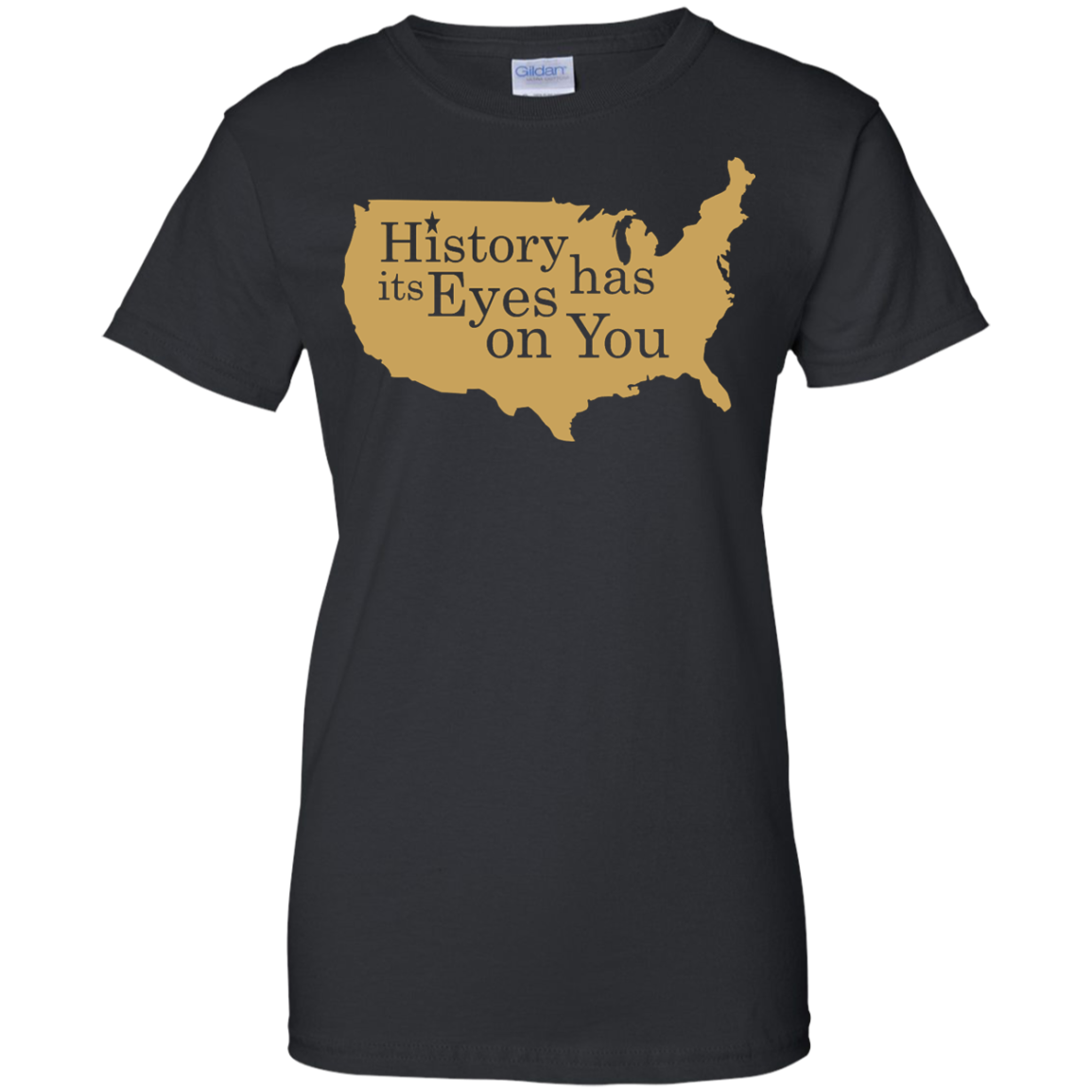 image 694px Hamilton Clothing history has its eyes on you T Shirt