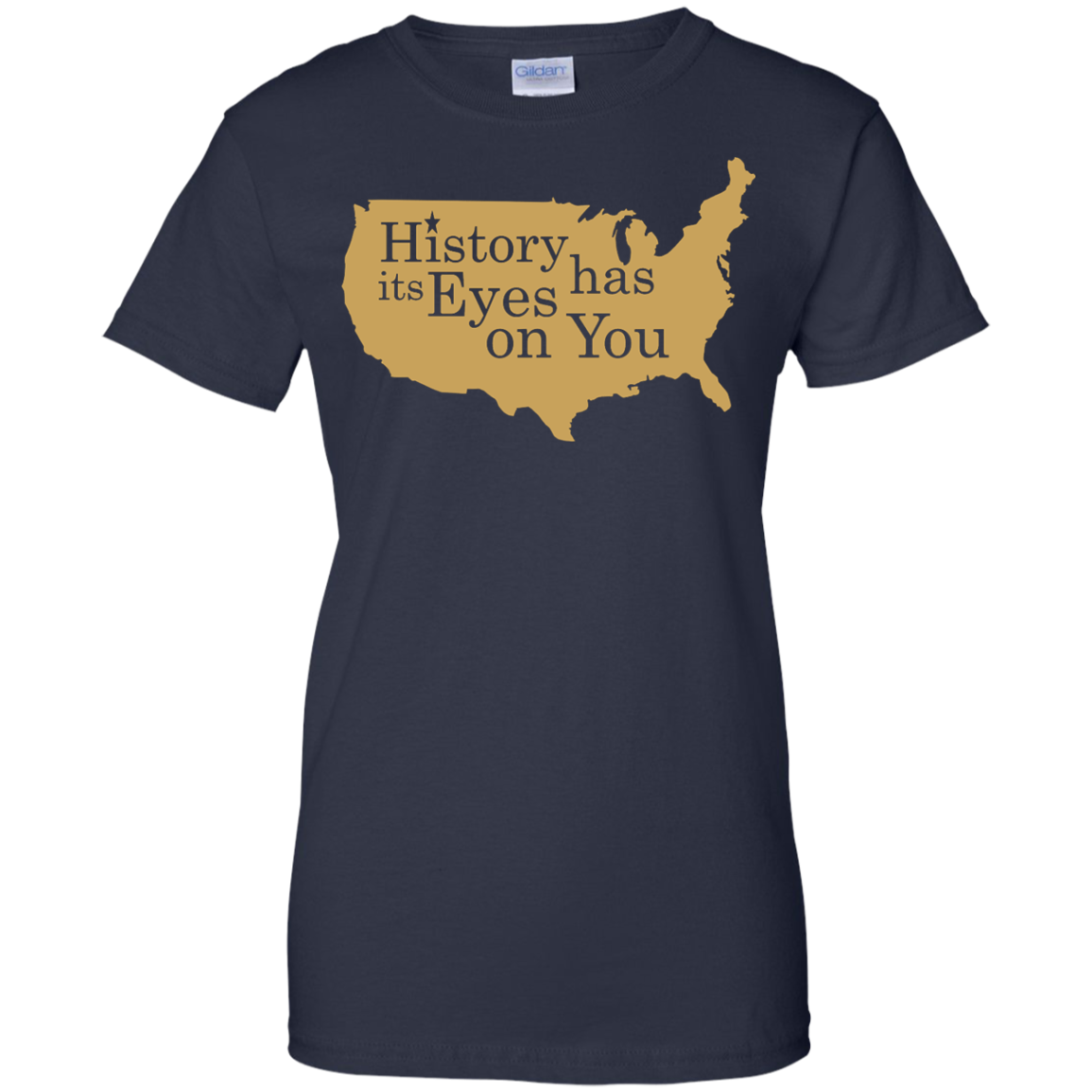 image 695px Hamilton Clothing history has its eyes on you T Shirt